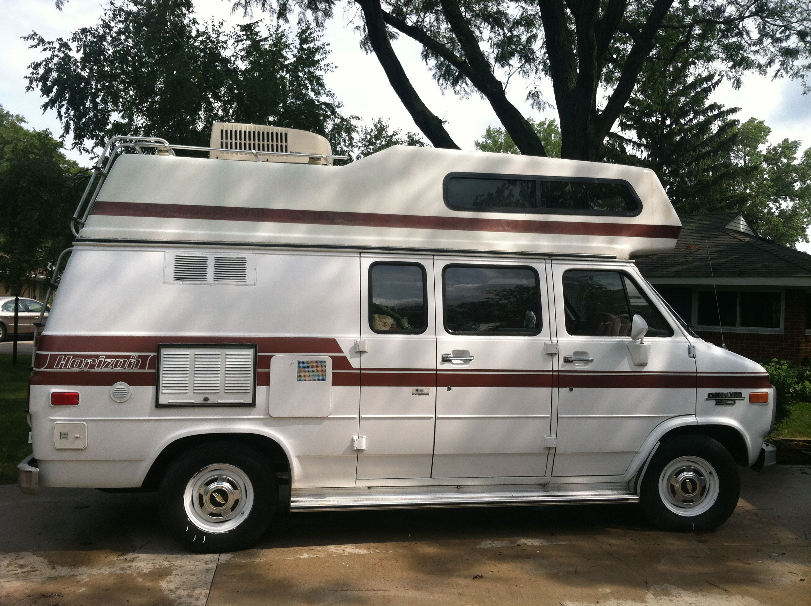 Our 1989 Chevy Horizon Camper Van Rv Pinterest