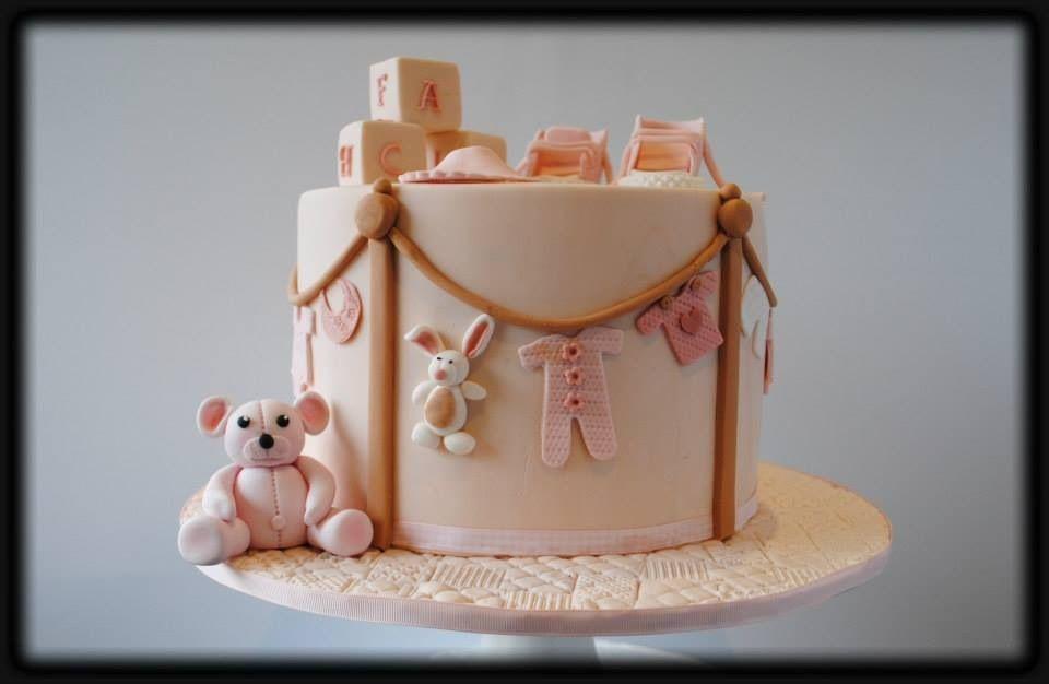 beautiful baby shower cake cakes cupcakes pinterest