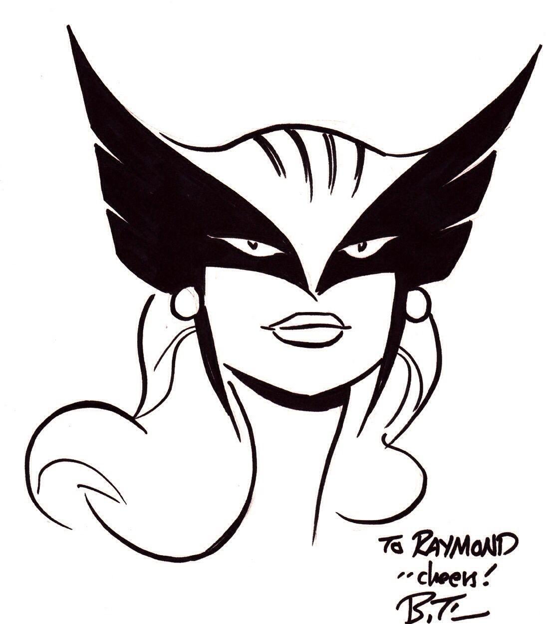 Hawkgirl Sketch by Bru...