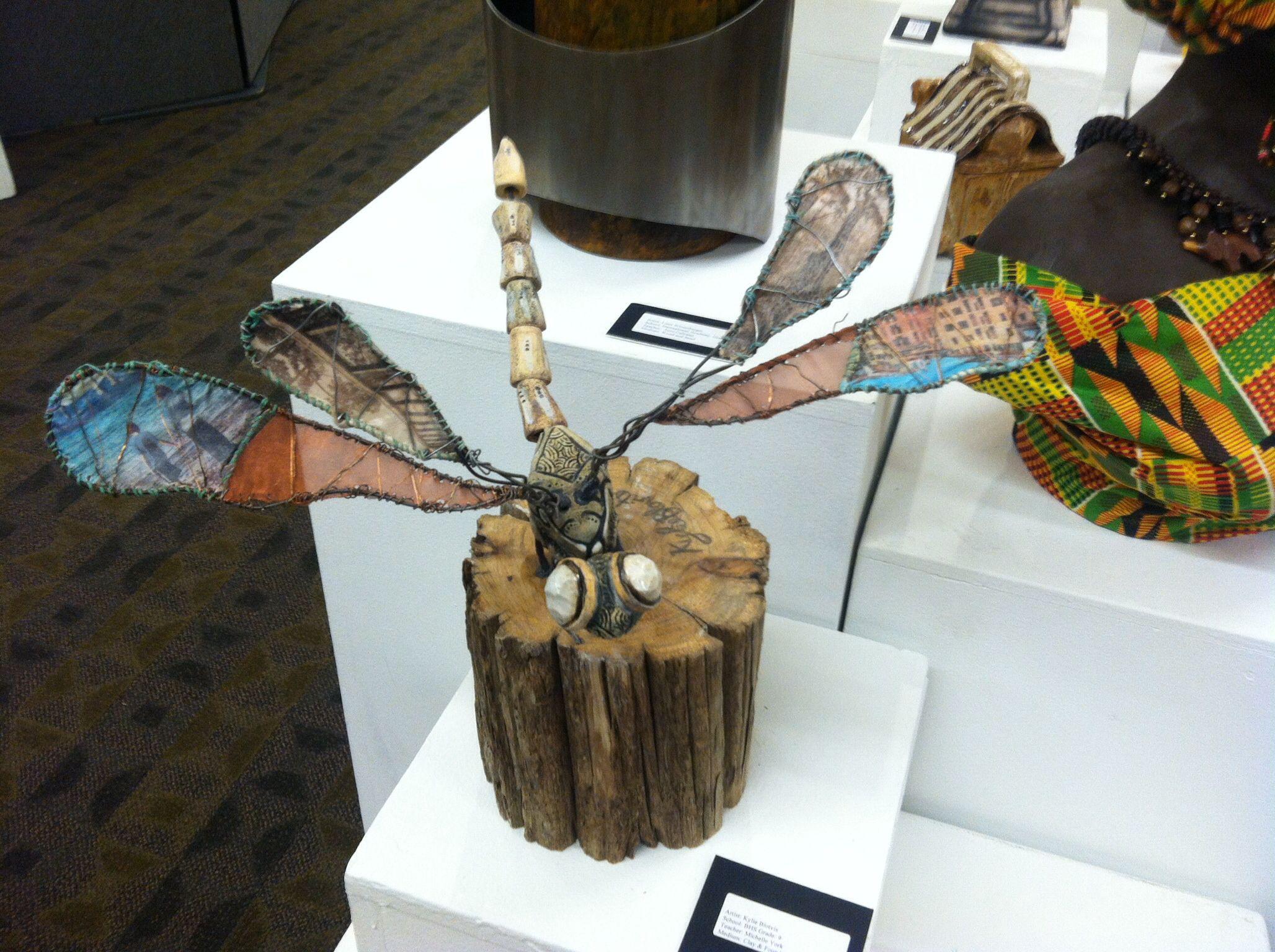 Bug Sculptures | High School Art Project Ideas | Pinterest