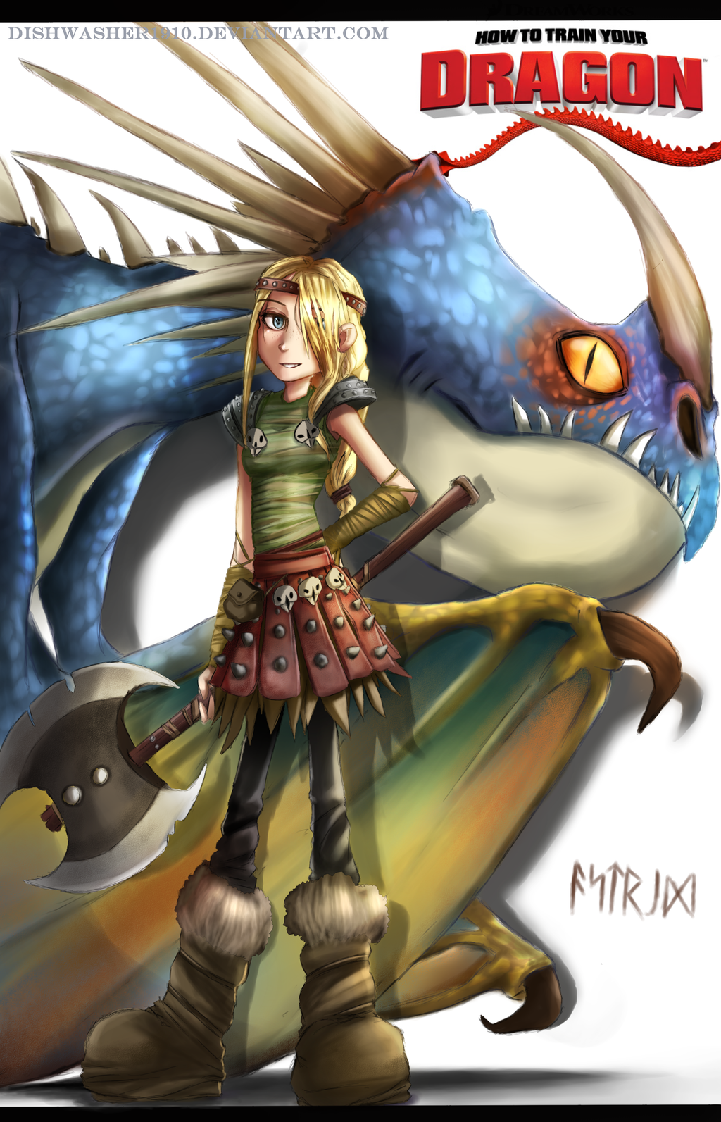 How to train your dragon astrid and  exploited actresses