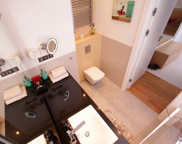 Phòng tắm gọn gàng và tiện nghi