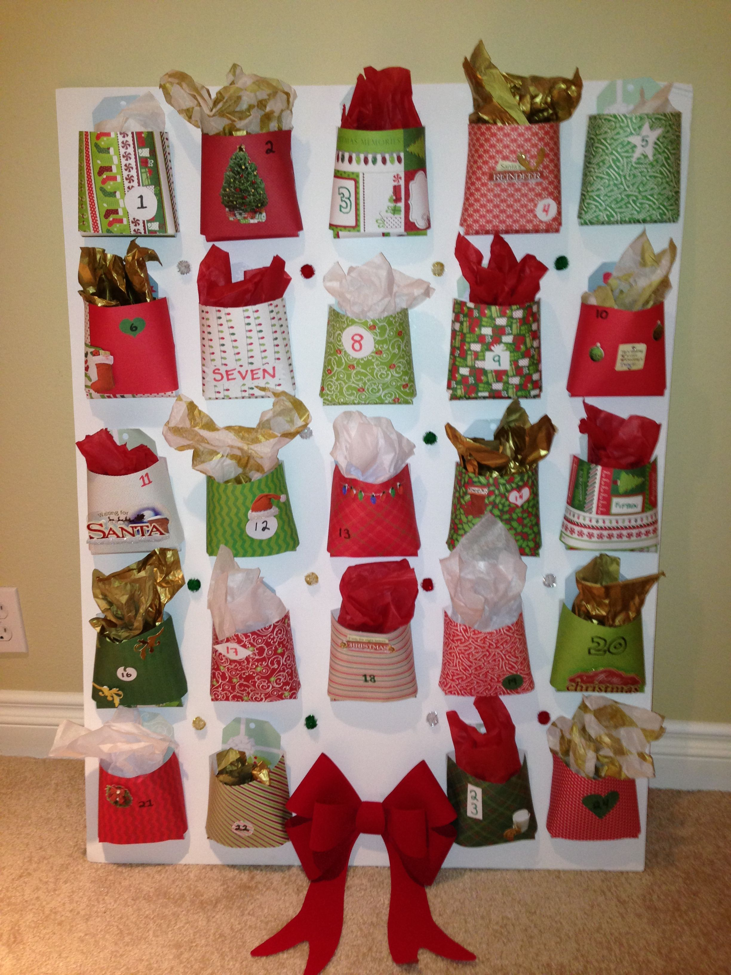 Homemade advent calendar home decoration ideas pinterest - Pinterest advent ...