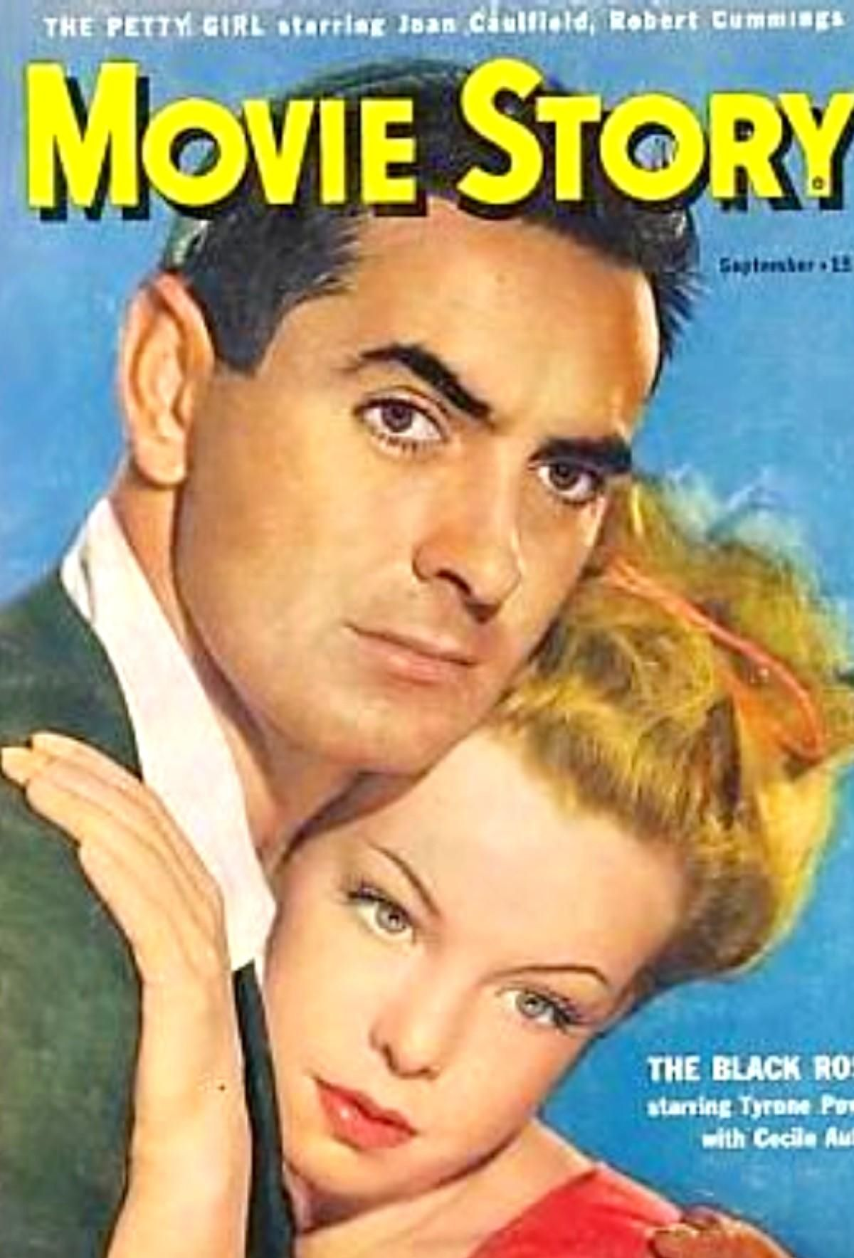 tyrone power 1950 movie magazines pinterest. Black Bedroom Furniture Sets. Home Design Ideas