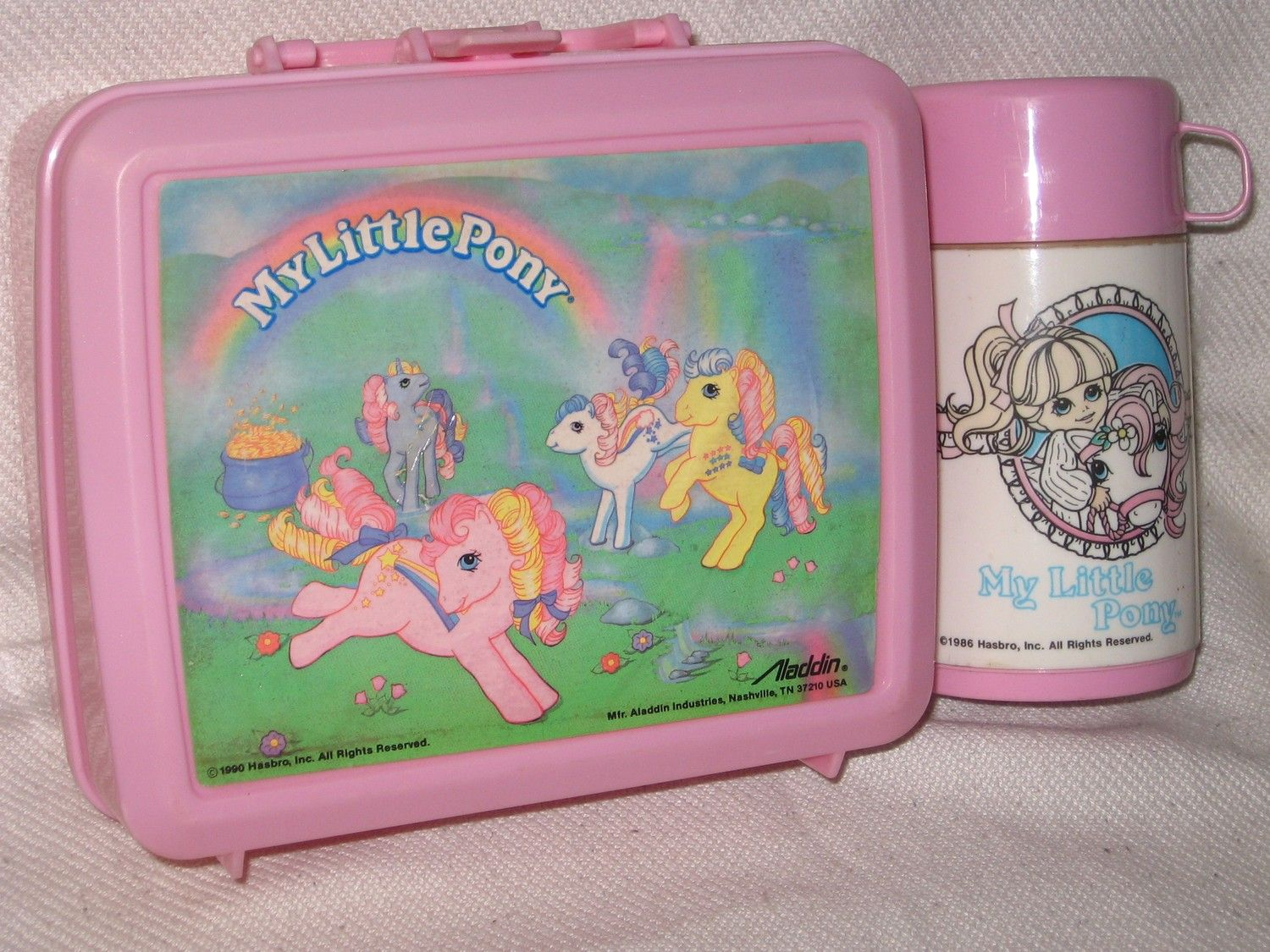 my little pony lunch box thermos oldies but goodies. Black Bedroom Furniture Sets. Home Design Ideas