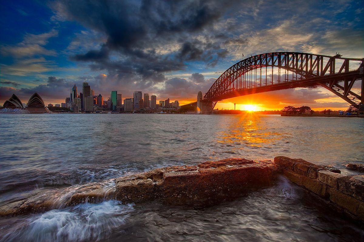 Sydney sunset australian spaces and places pinterest for Spaces and places