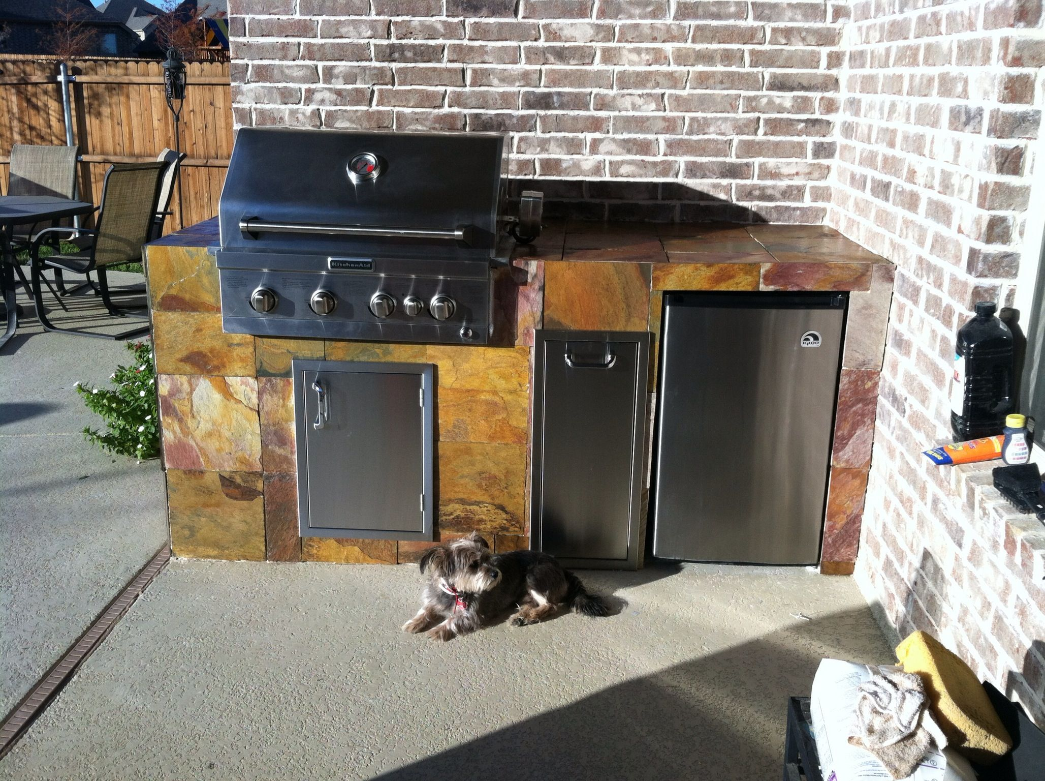 Built In Bbq Grill Diy Ideas For Home Pinterest