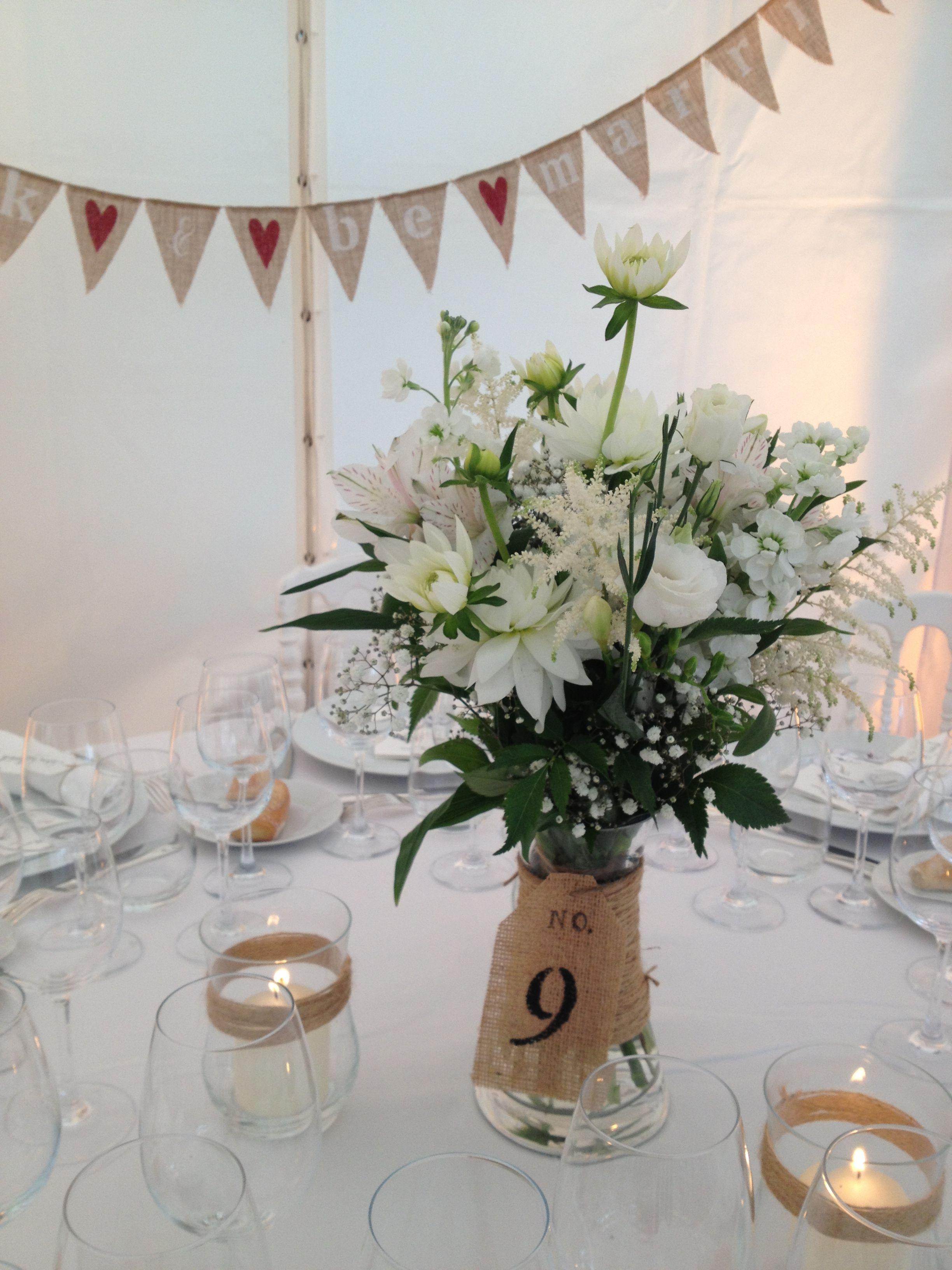 Id es d coration de table pour un mariage champ tre blog - Idee deco table champetre ...