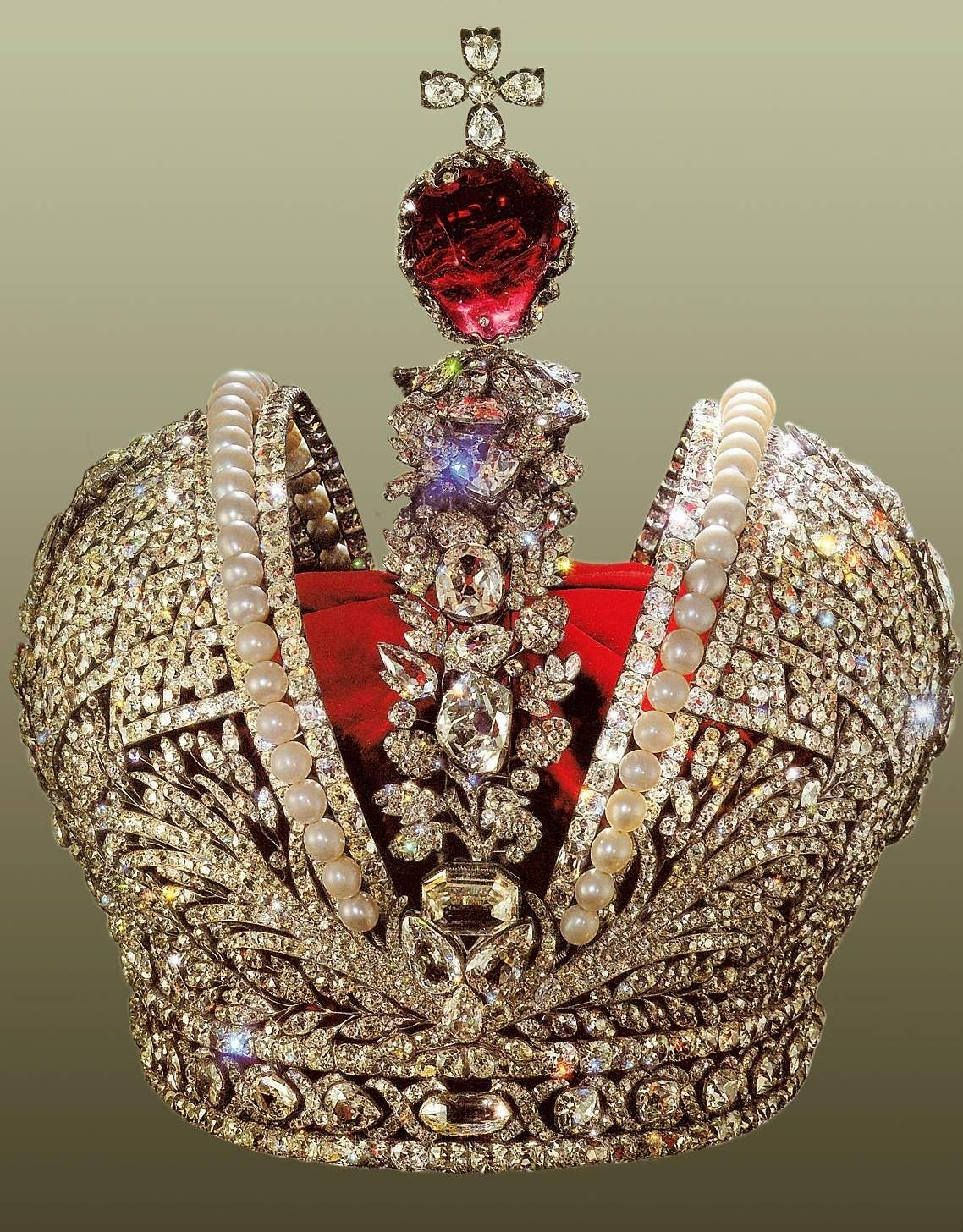 great imperial crown of russia created for the coronation