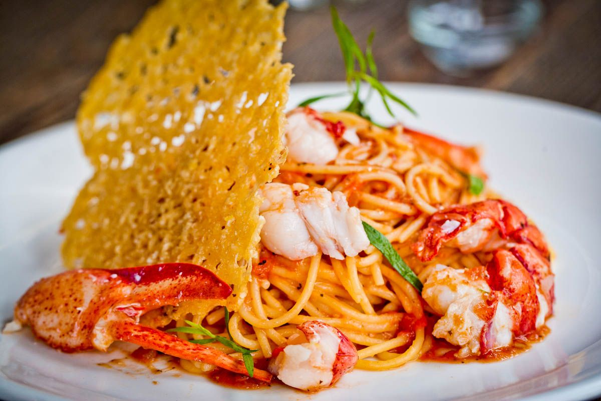 Jeffrey's Grocery lobster spaghetti | Palate | Pinterest