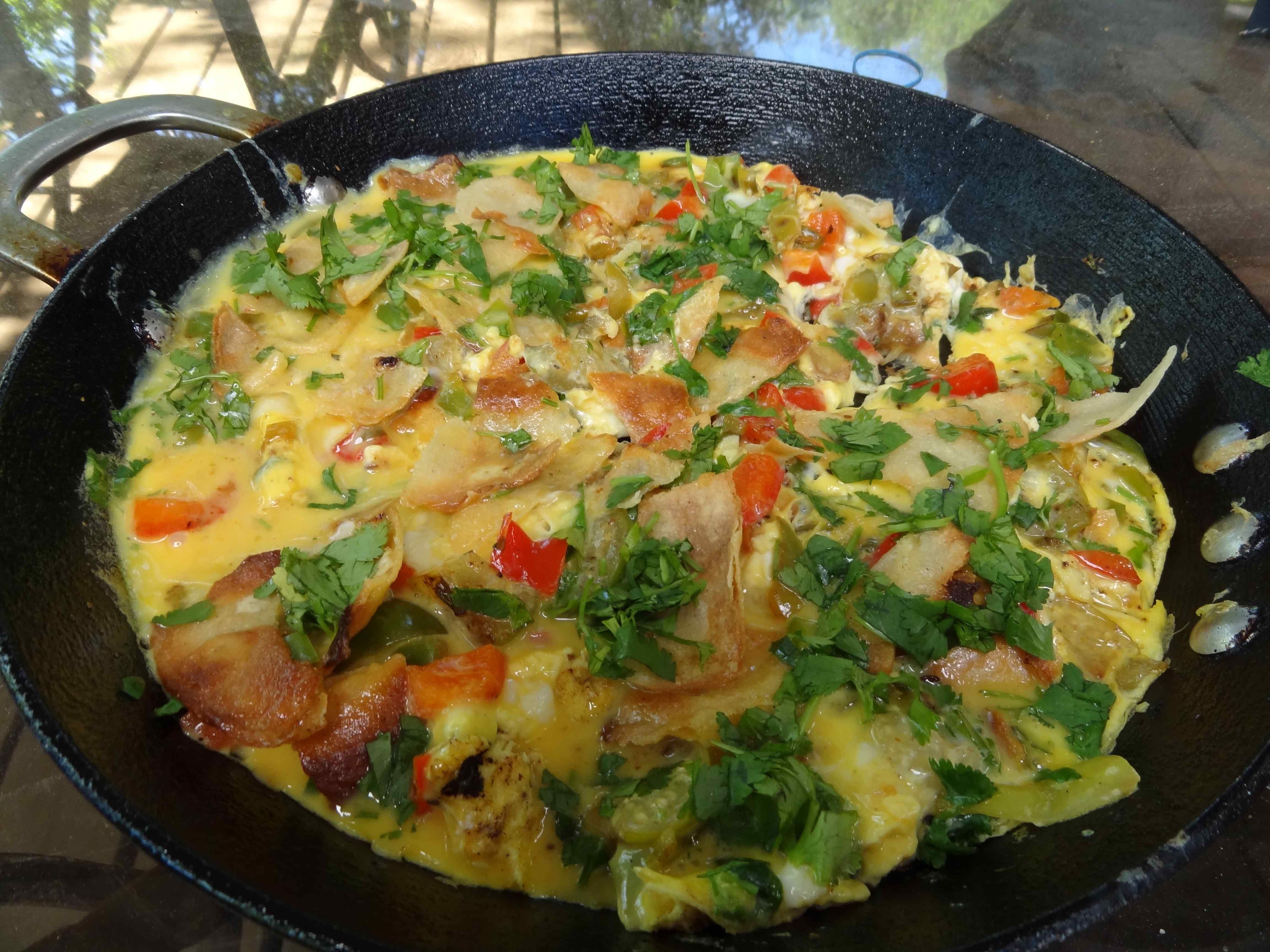 Scrambled Eggs With Tomatillos Recipes — Dishmaps