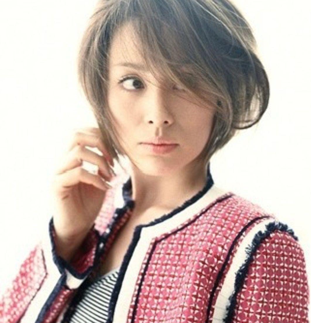 ショート ボブ 大門未知子 米倉涼子髪型