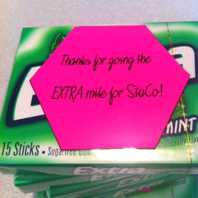 Candy Ideas For Student Council