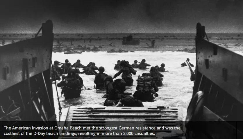 d-day war photos