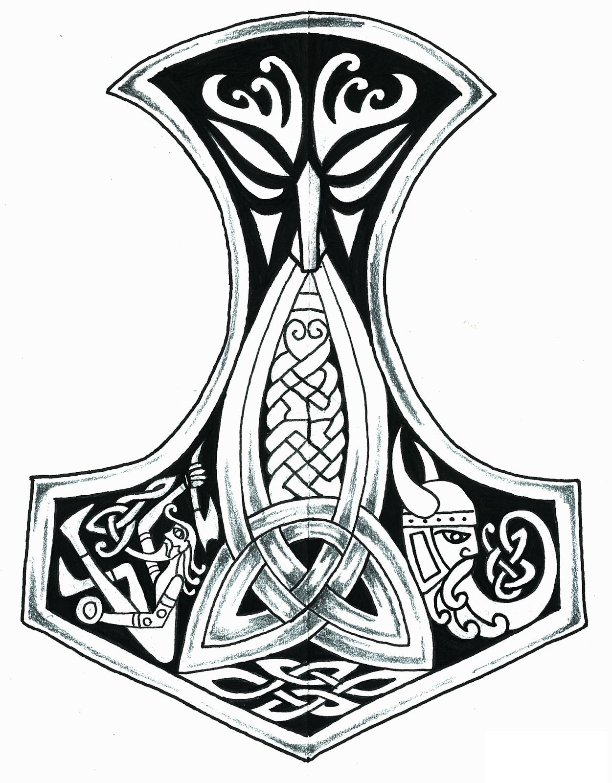 Тату эскизы скандинавских рун