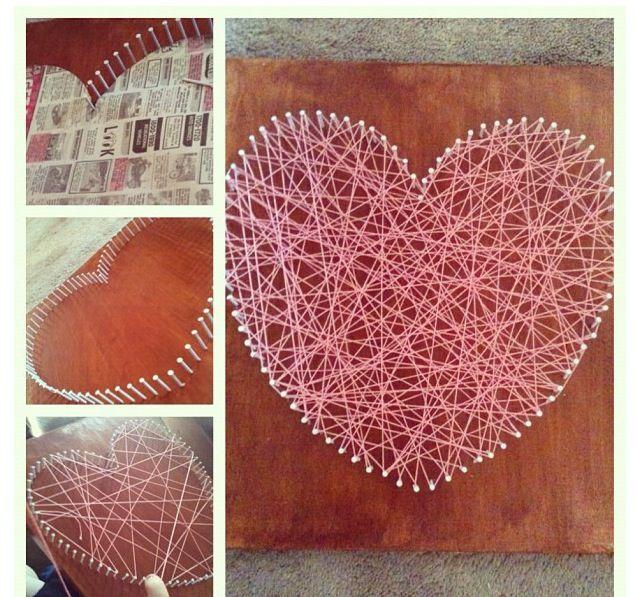 Nail And String Art: Nail & String Art.:)