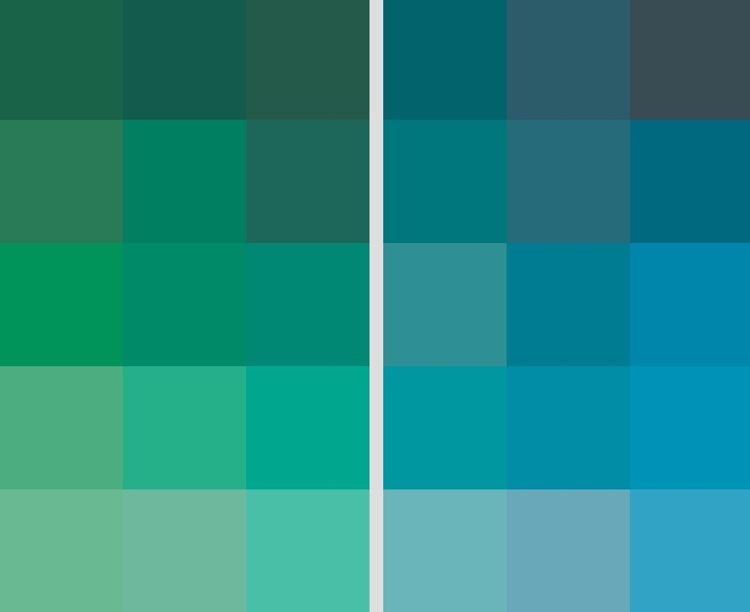 Between green and blue color combinations pinterest - Blue and green combination ...