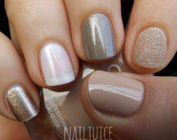 Fall gel nails | Mani Swag | Pinterest