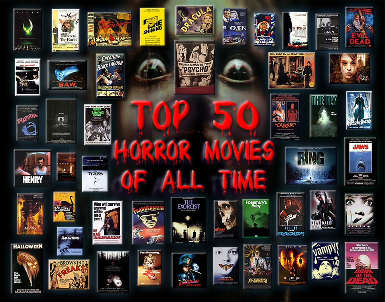 Top 50 movie posters of all time