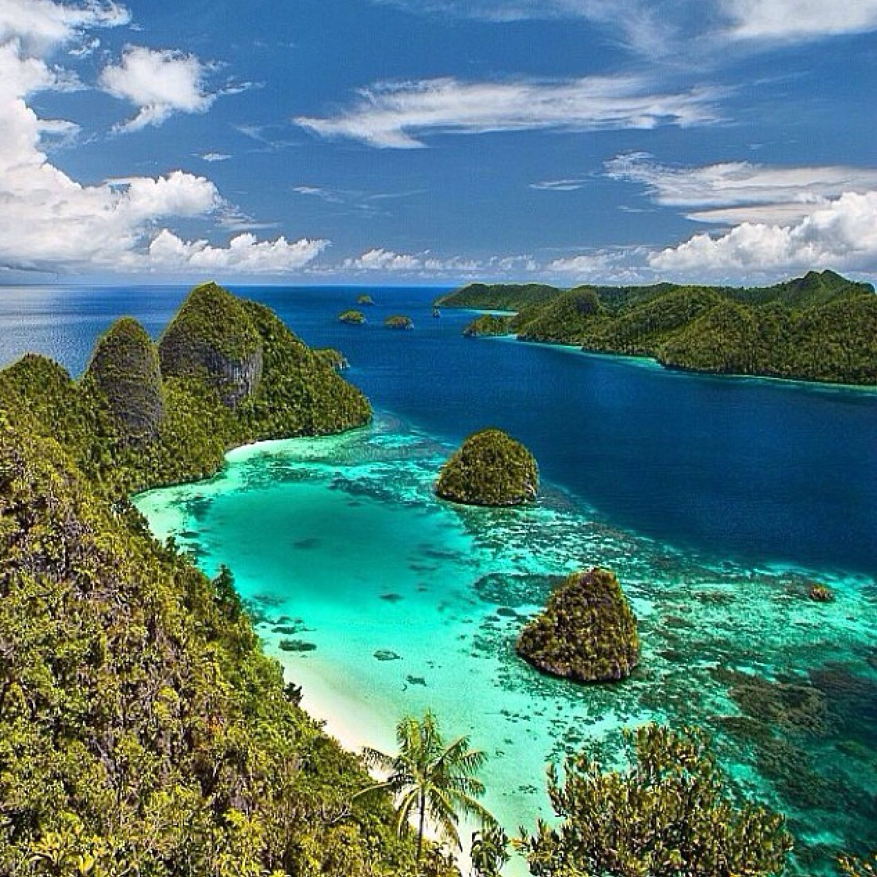 Indonesia Beautiful Places Pinterest