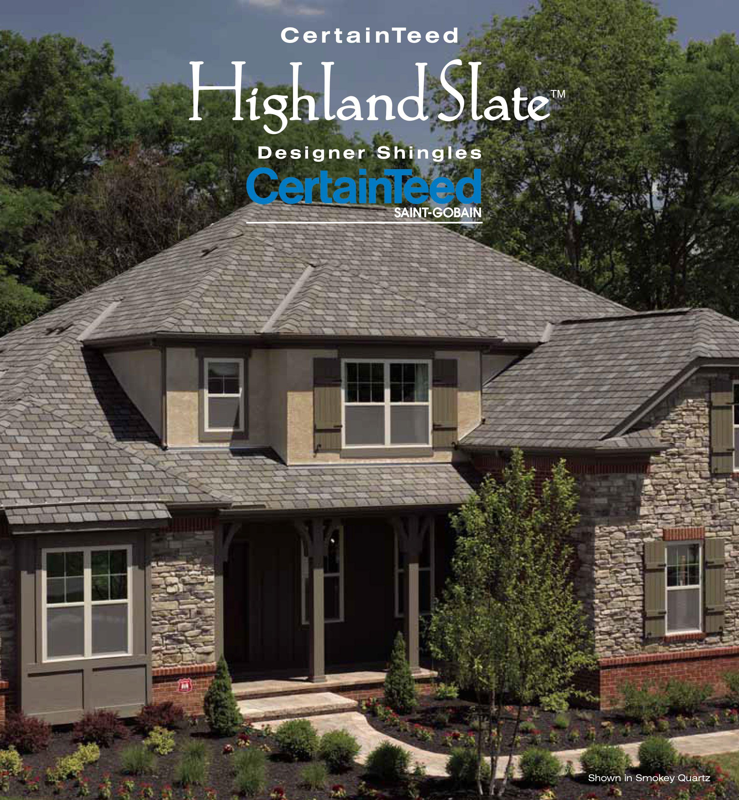 Best Certainteed Highland Slate J A Huddleston Pinterest 400 x 300