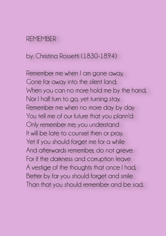 My funeral poem a service pinterest