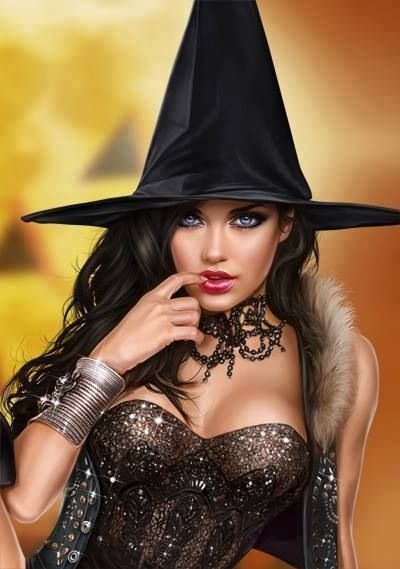 Erotic witch