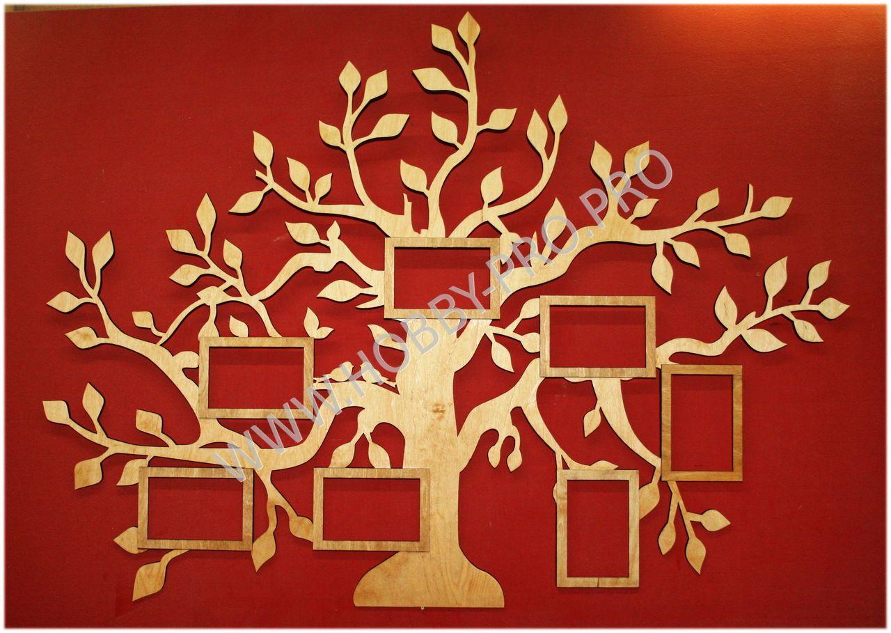 Дерево фоторамка из фанеры