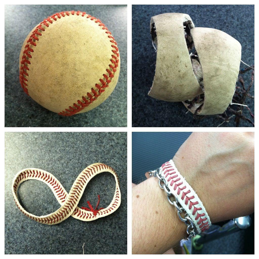 diy baseball bracelet things to accomplish