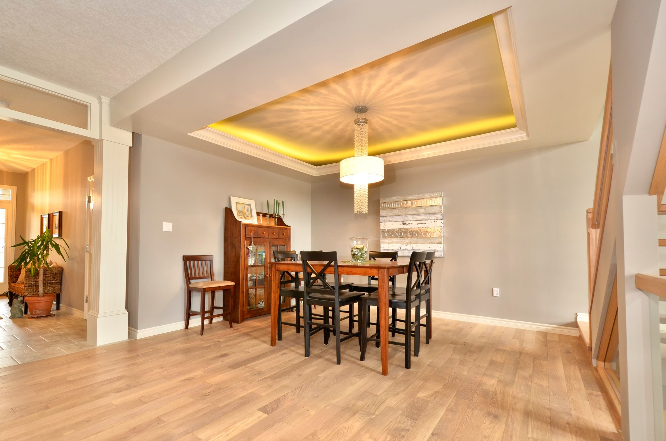 cove ceiling dining room decor ideas pinterest