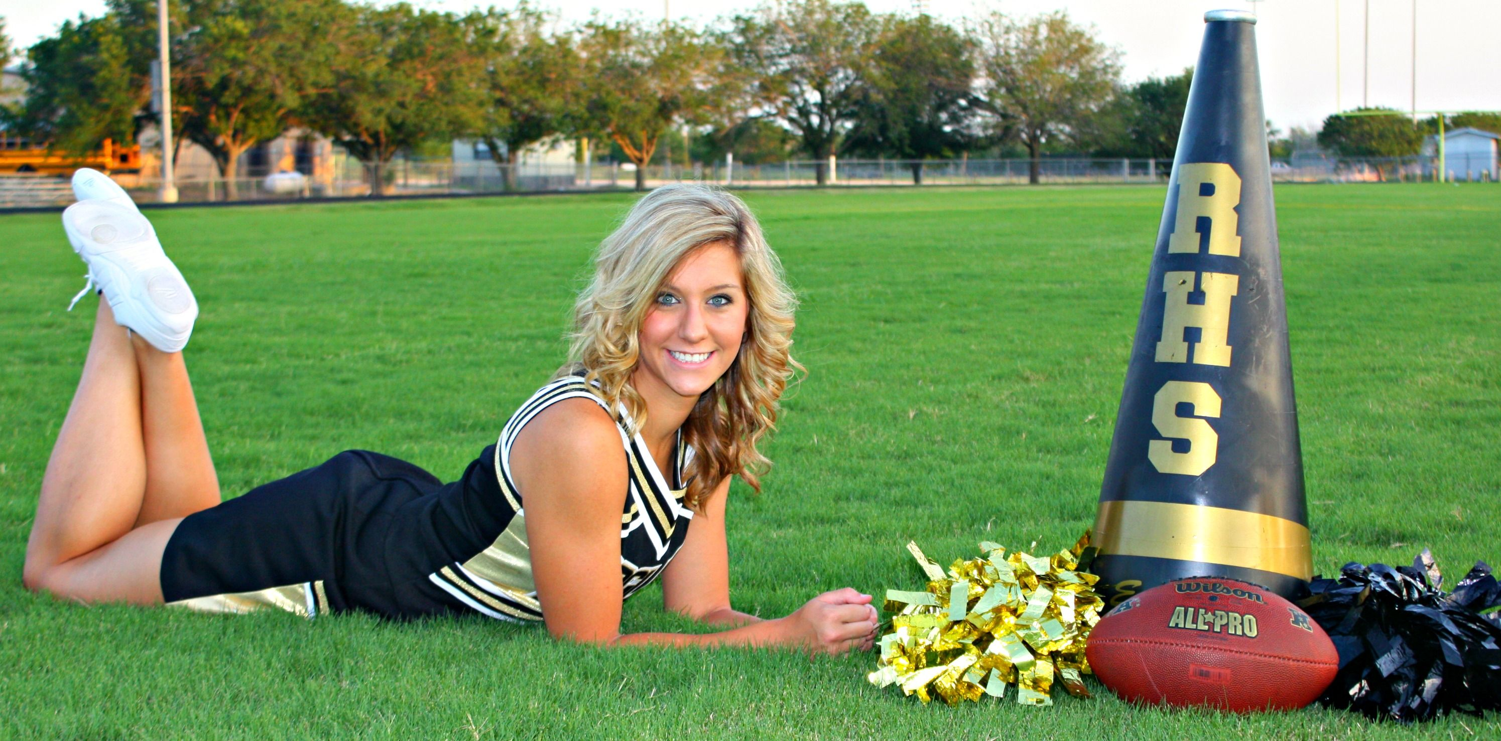 Cheerleading poses for pictures Lenape Regional High School District / Overview