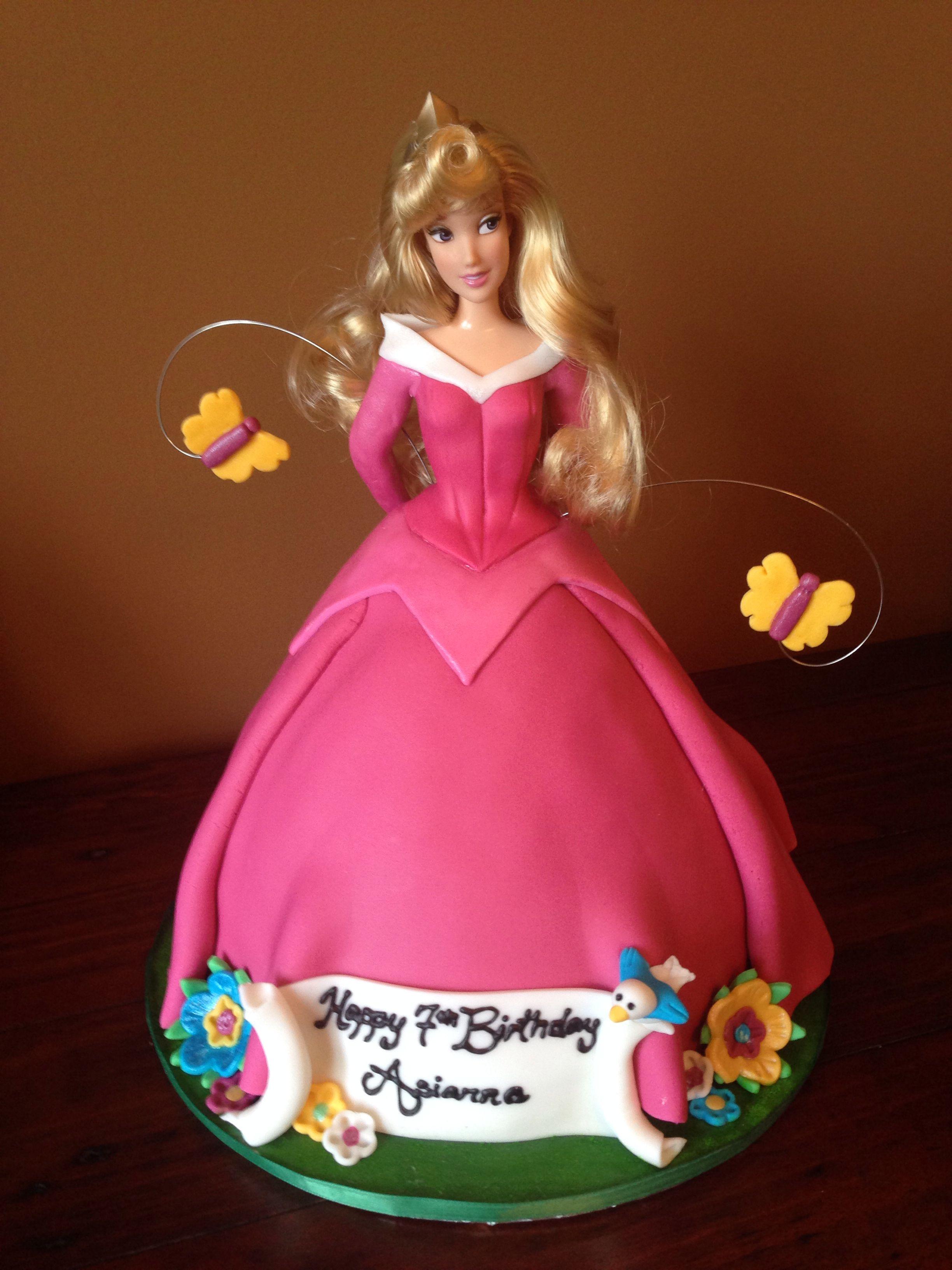 Princess Aurora Cake Design : Princess Aurora Cake kids  party ideas Pinterest