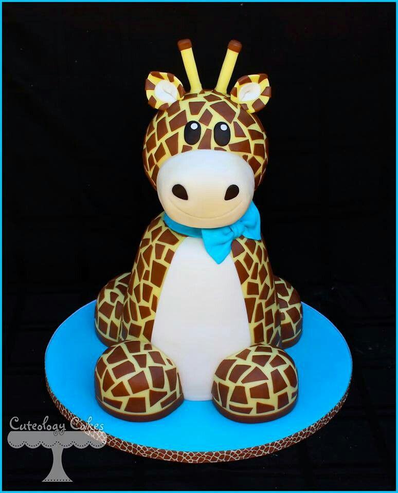 Cake Designs Giraffe : Giraffe Cake Ideas Pinterest
