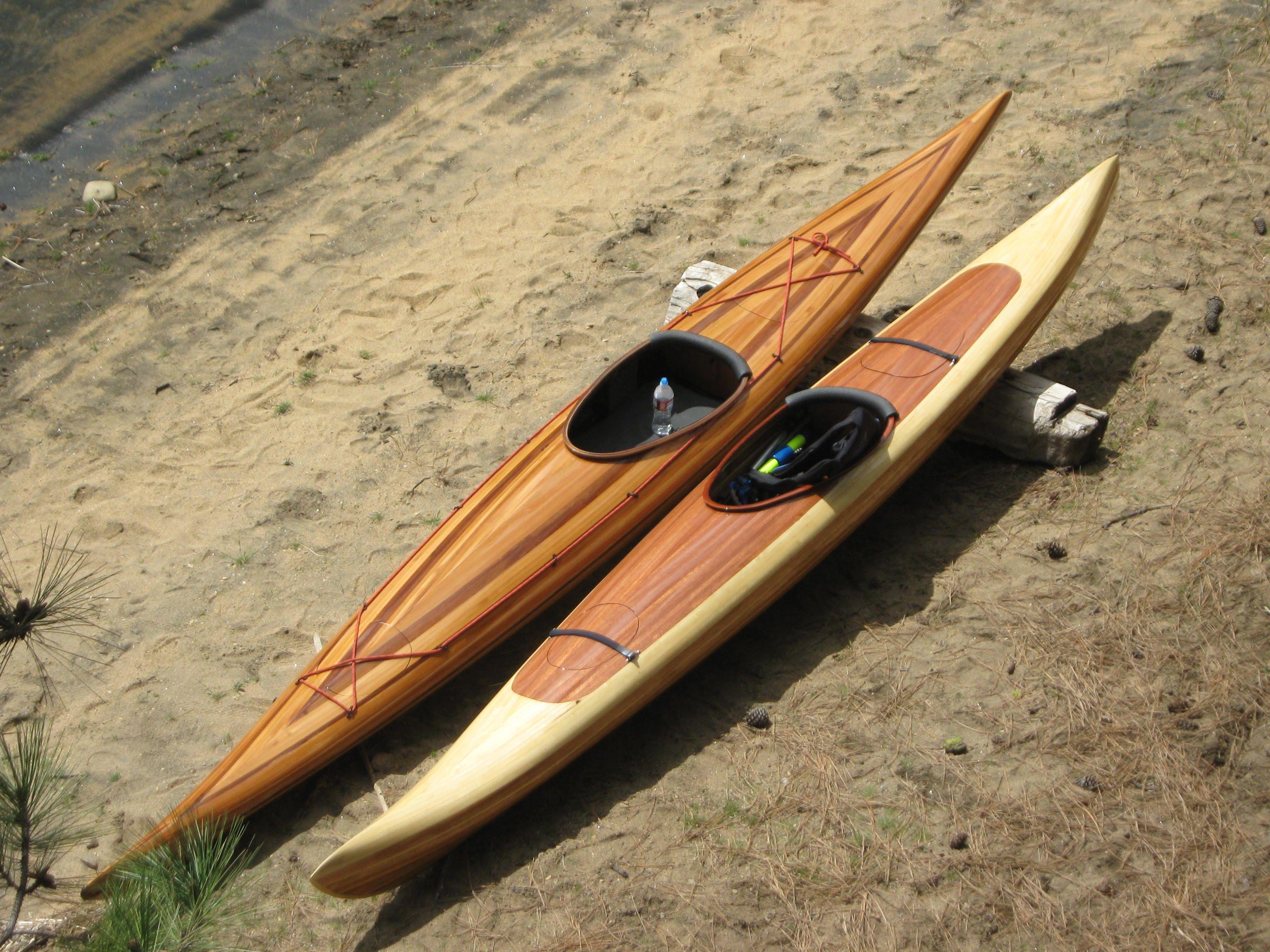 Agree, Cedar strip kayak cost really
