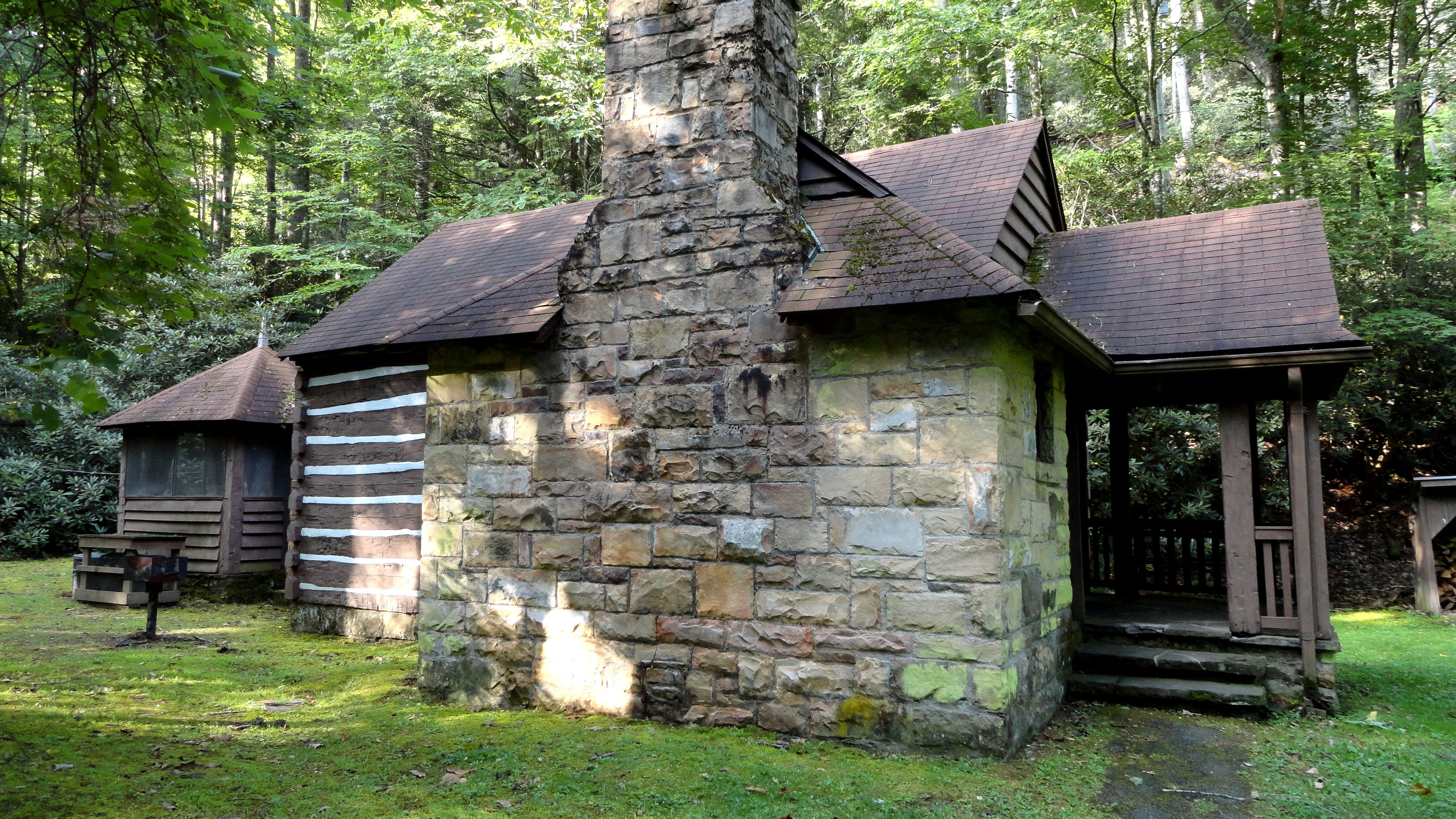 Rustic Cabin We Love Staying In At Watoga State Park In