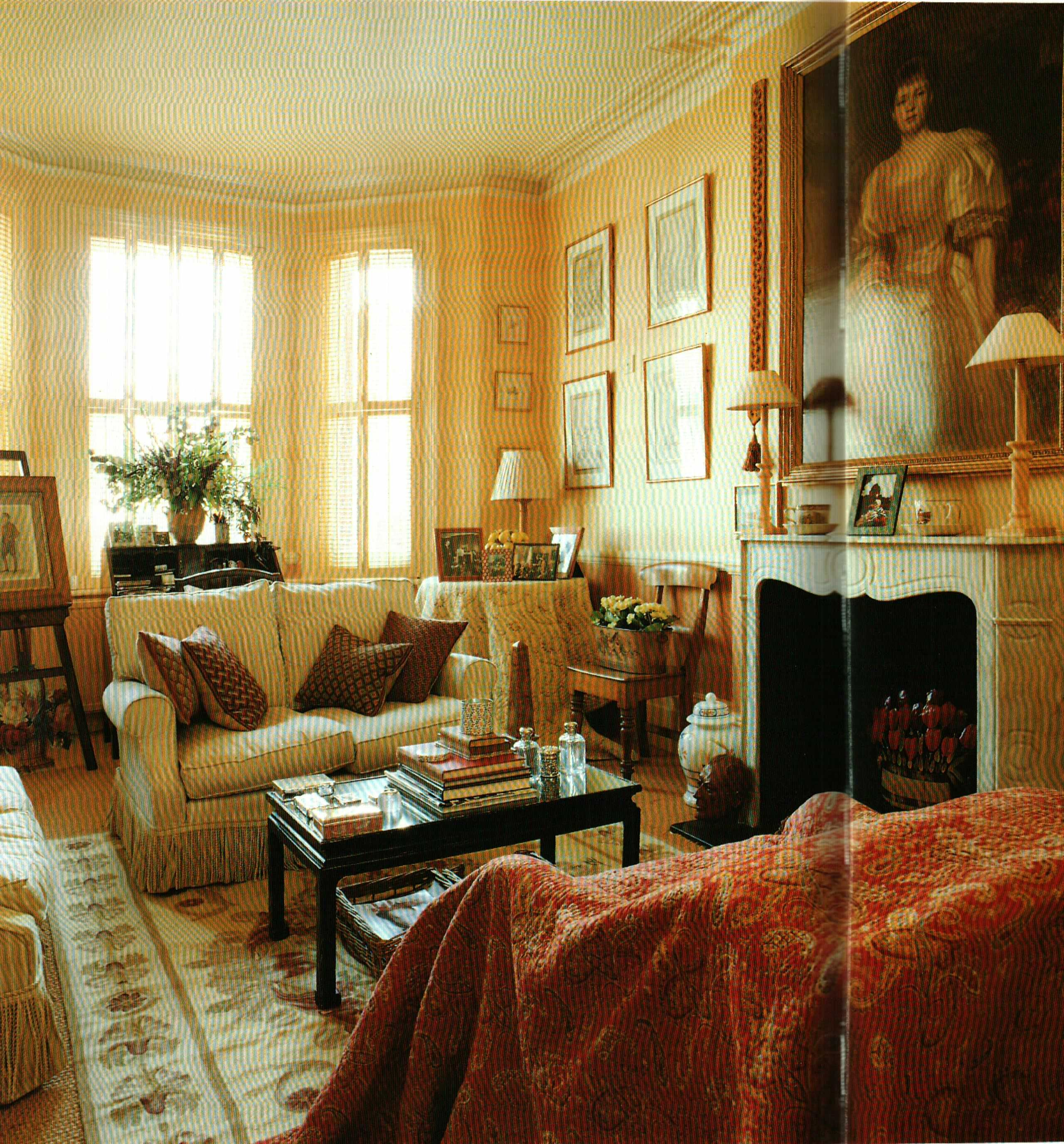 London Sitting Room Old Cottage Interiors Pinterest
