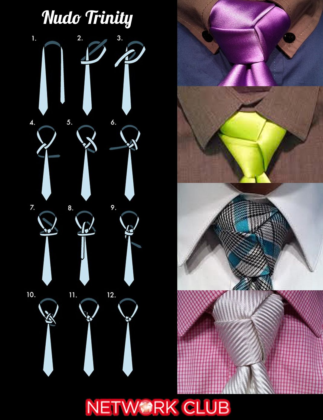 Most fashionable tie knot 62