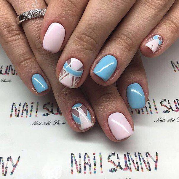 Дизайн ногтей шеллаком фото новинки 2017 весна 2