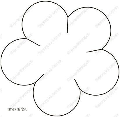 Нарисовать цветы из бумаги