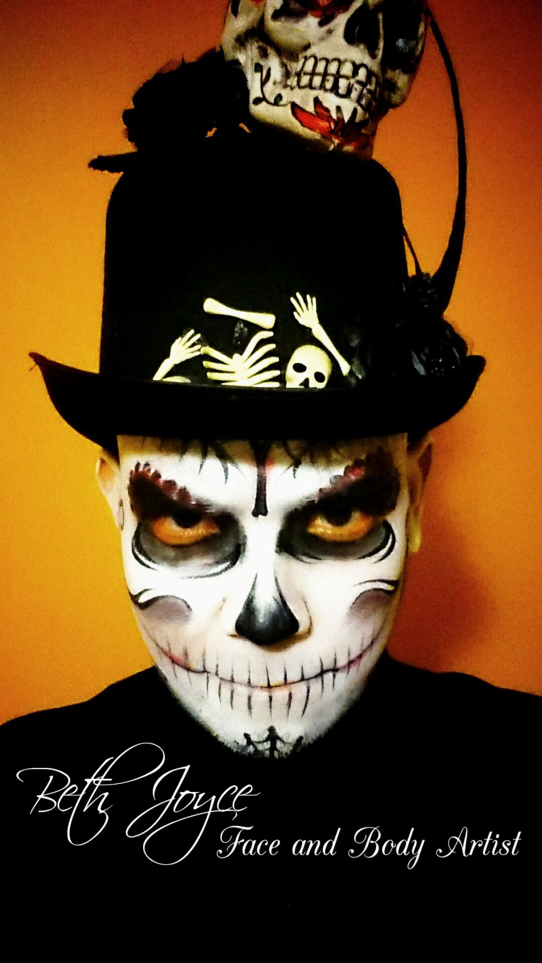 pictures 4 DIY Halloween Face Paint Tutorials For Kids