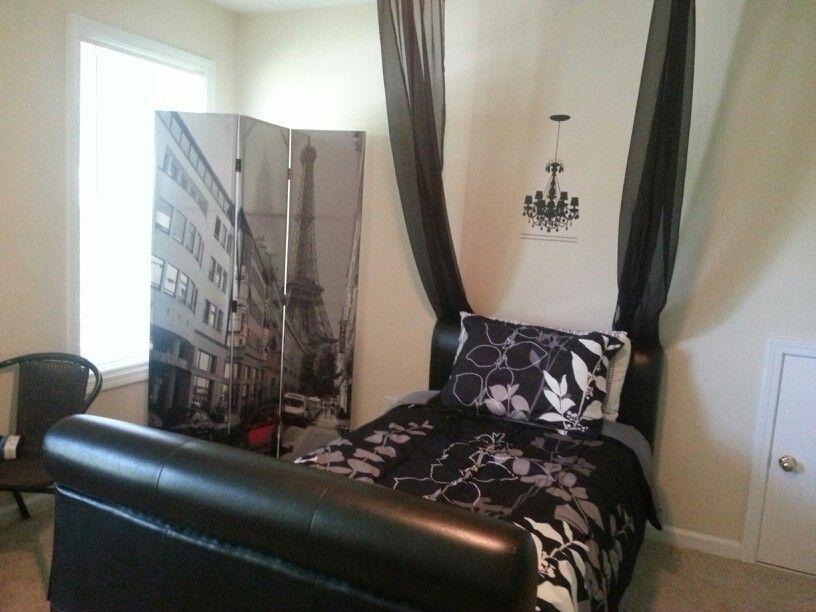diy teenagers room paris theme bedroom ideas pinterest
