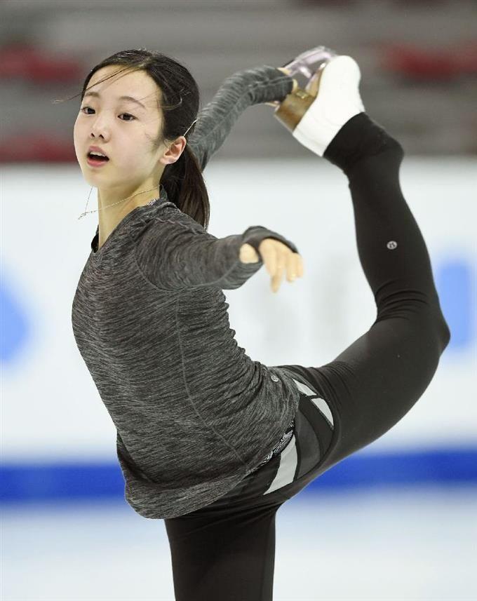 本田真凜の練習着
