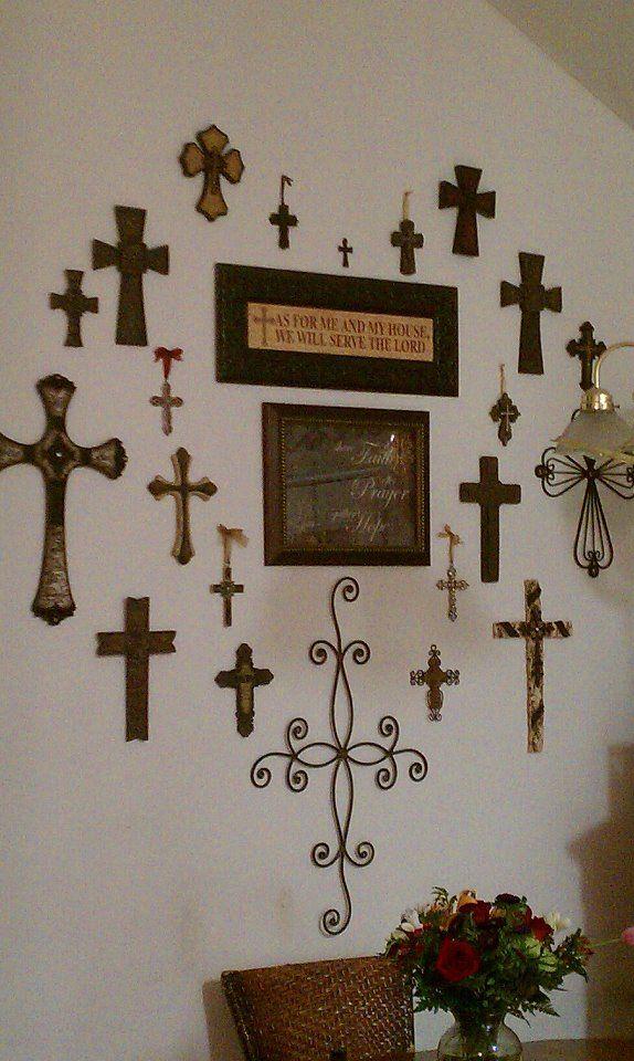 Crosses On Pinterest Cross Walls Wall Crosses And Crosses