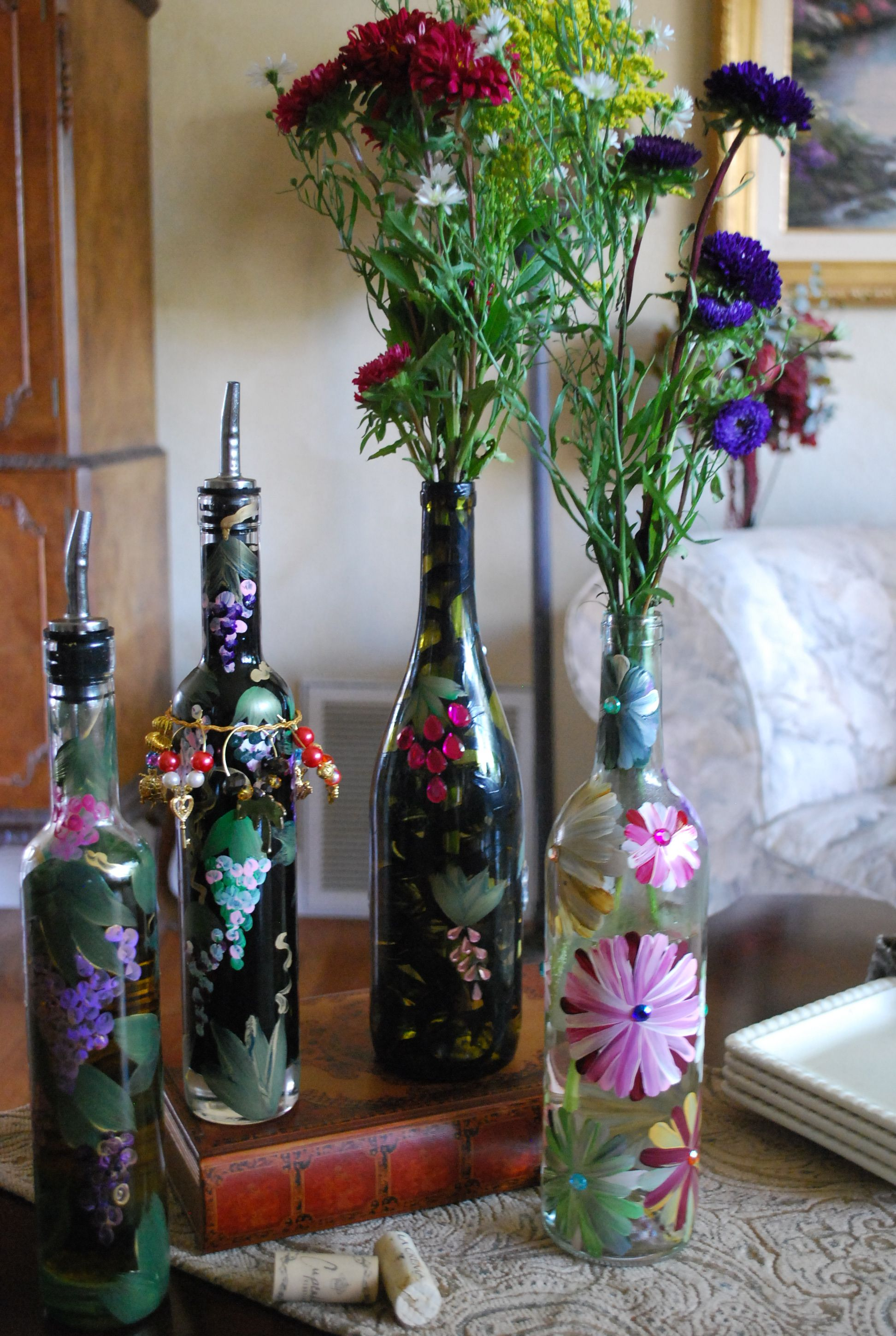 recycle wine bottles | Home | Pinterest