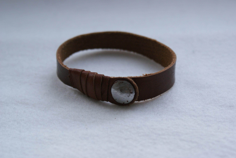 diy leather bracelet craft ideas pinterest. Black Bedroom Furniture Sets. Home Design Ideas