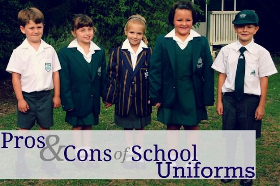 School uniforms pro and cons