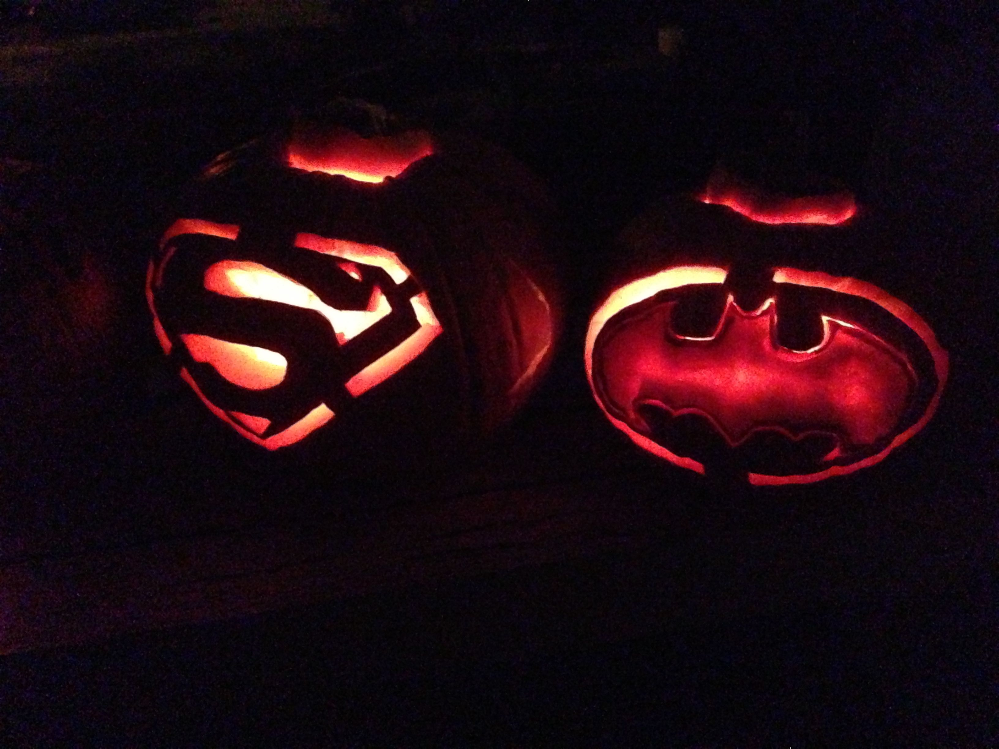 Superman Halloween Pumpkins Pictures To Pin On Pinterest PinsDaddy