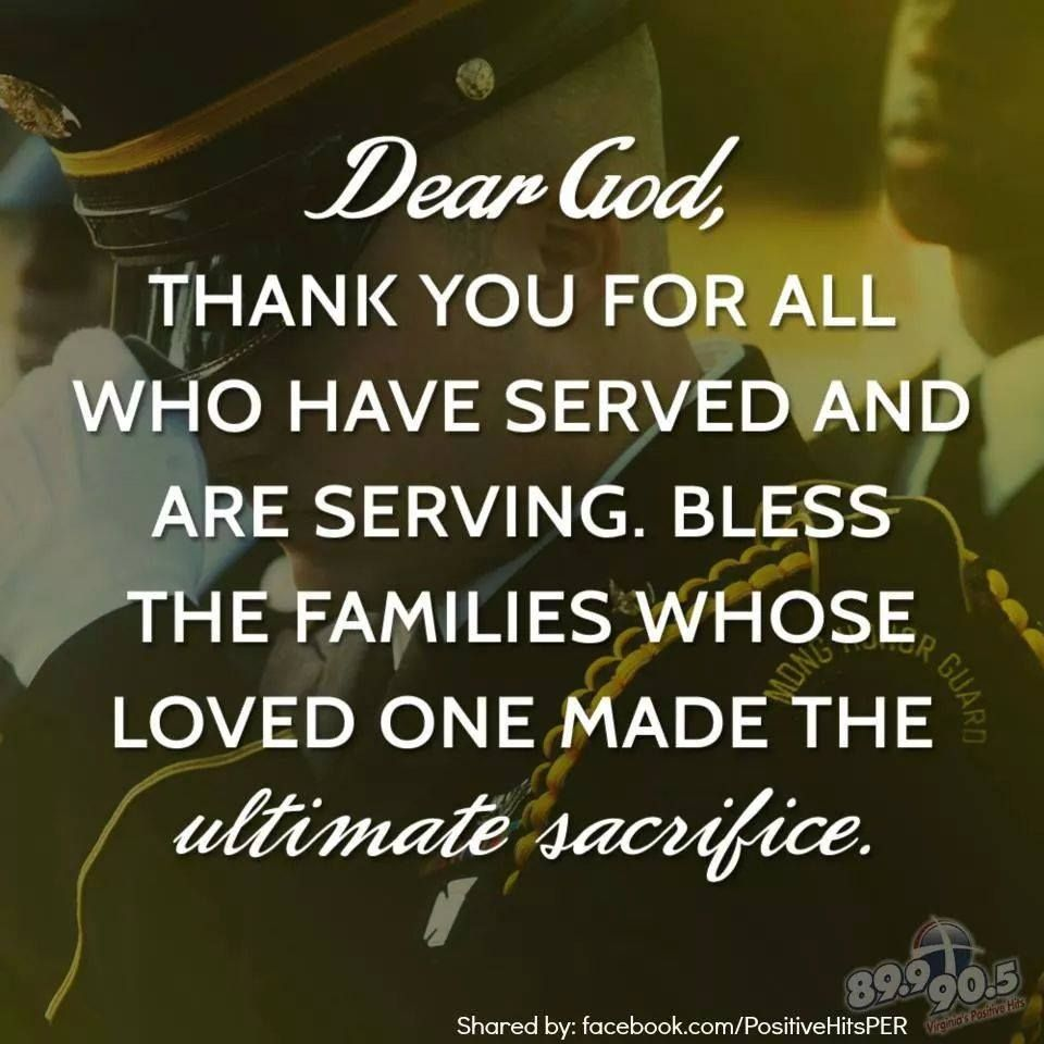 memorial day prayers for worship
