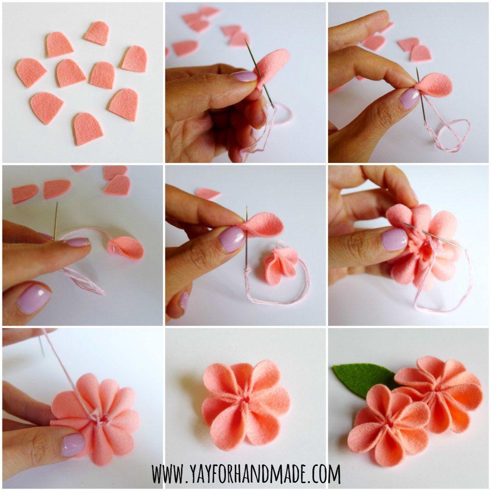 Своими руками делаем цветочки