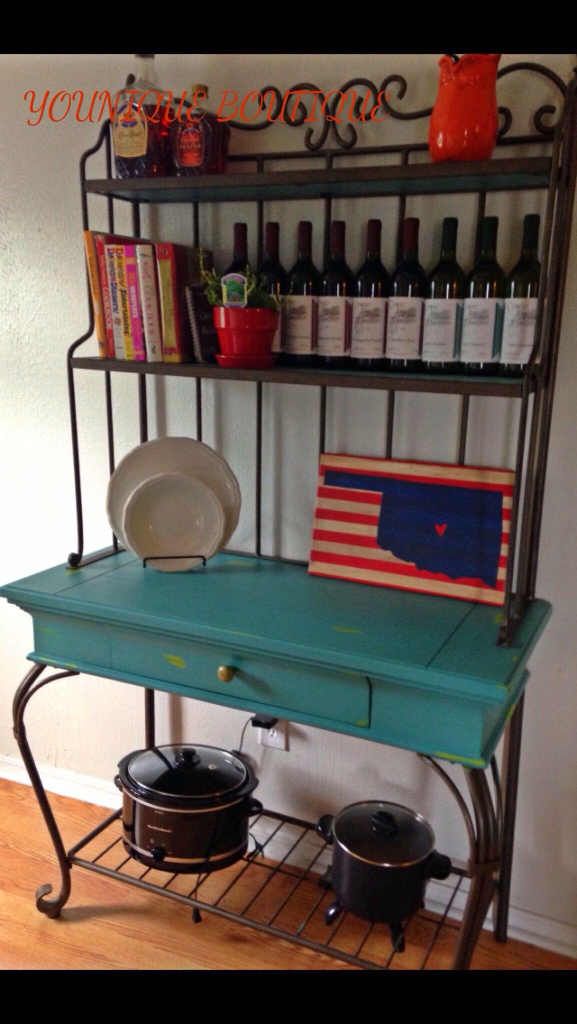 Refunked baker s rack decorating ideas pinterest